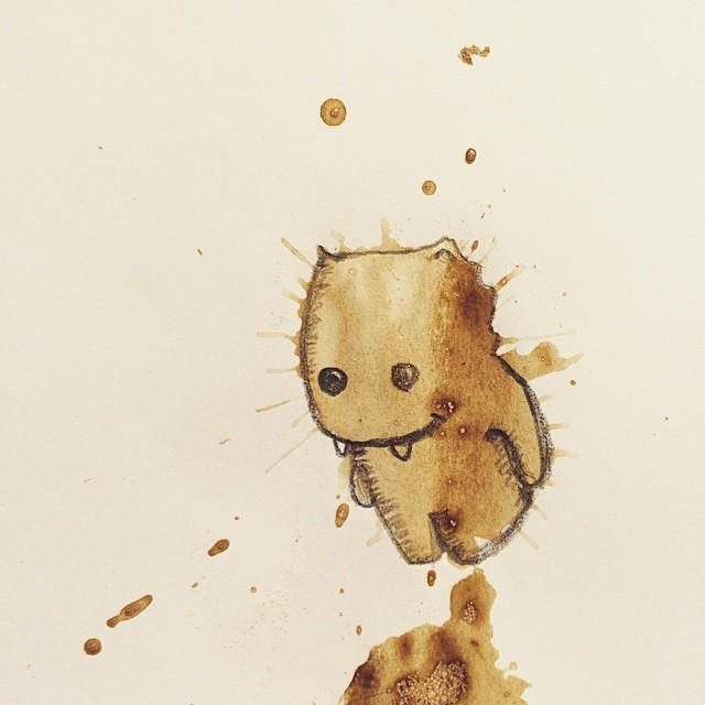 manchas de cafe monstruitos 2
