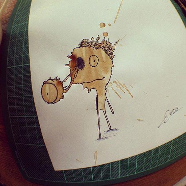manchas de cafe monstruitos 7