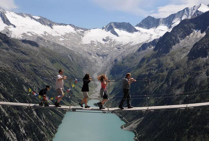 puente no apto personas con vertigo
