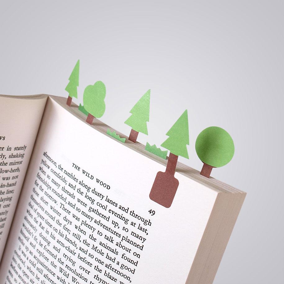 puntos de libro diferentes