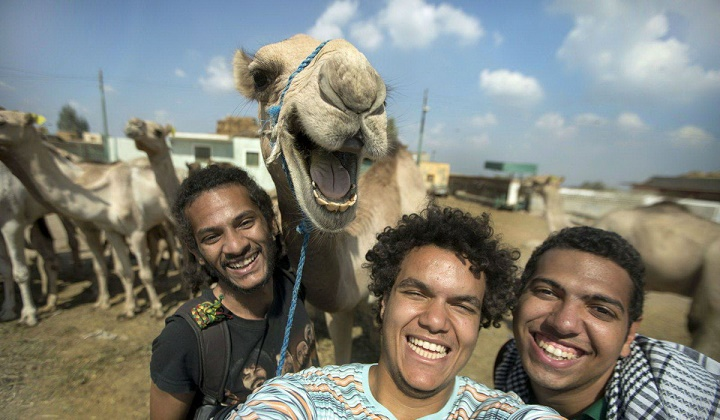 selfie en marruecos
