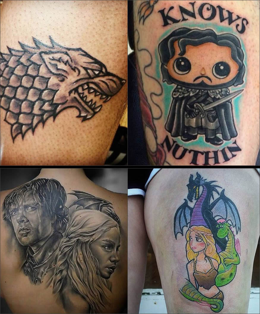 tatuajes de Juego de Tronos 5