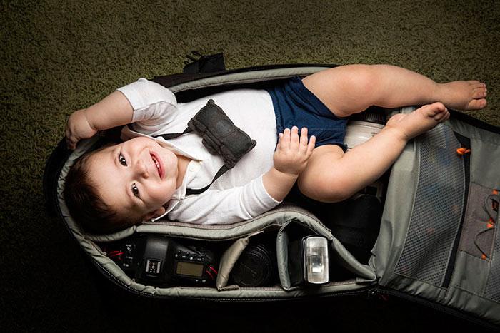 bebes bolsas camara de fotos 11
