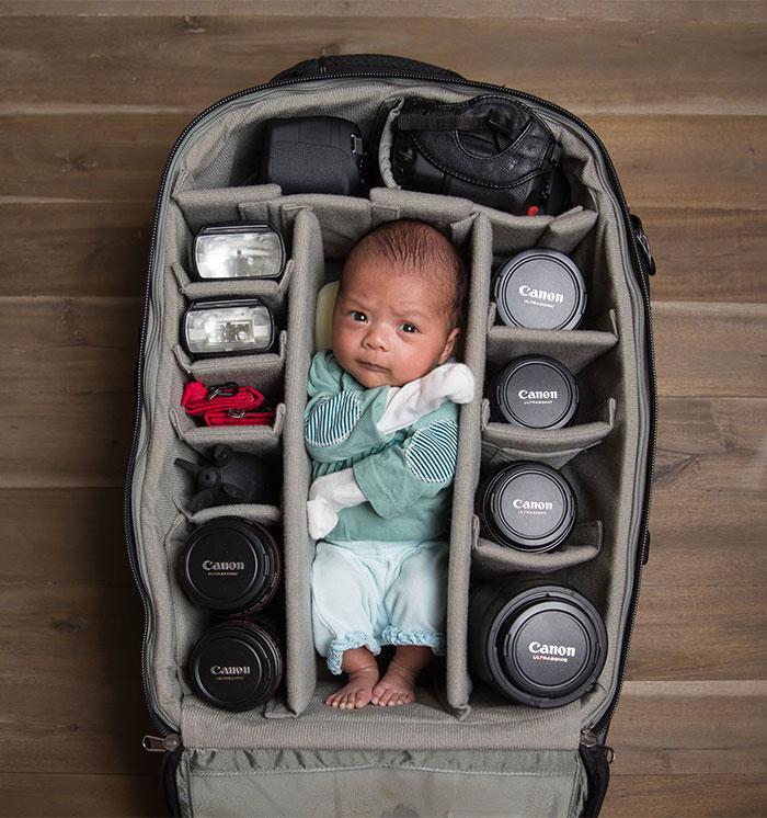 bebes bolsas camara de fotos 2