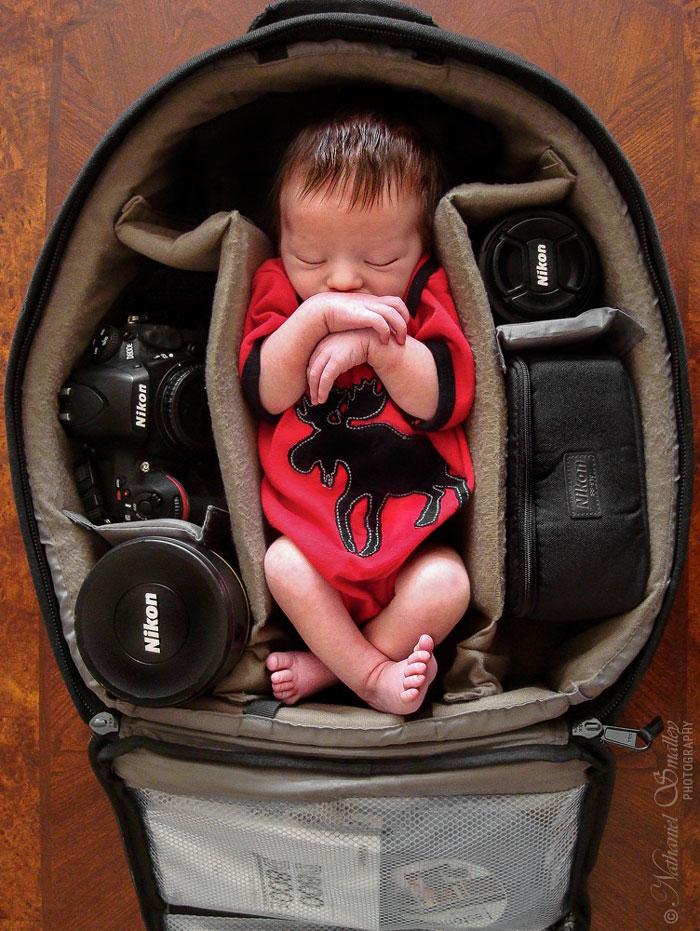 bebes bolsas camara de fotos 3