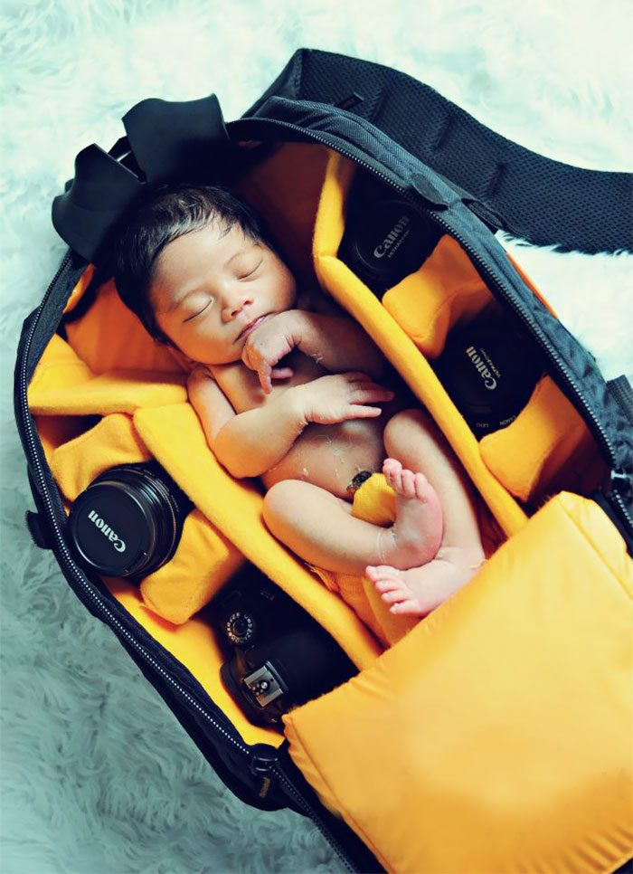 bebes bolsas camara de fotos 4