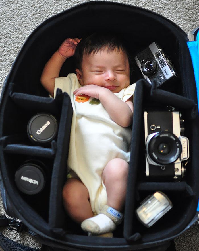 bebes bolsas camara de fotos 7