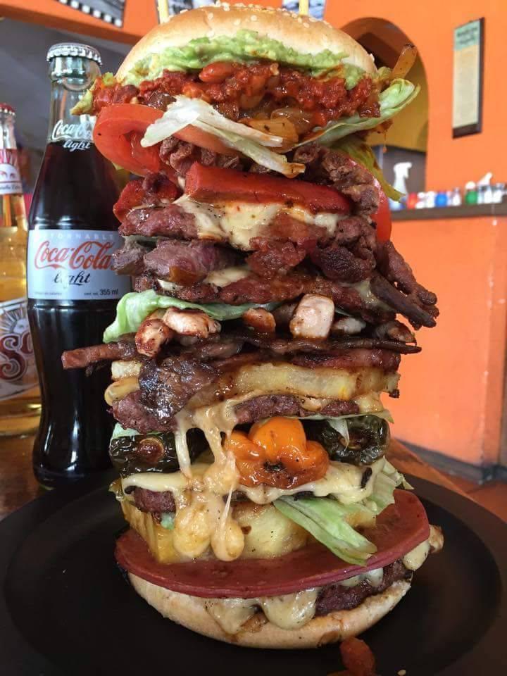 hamburguesa asquerosa