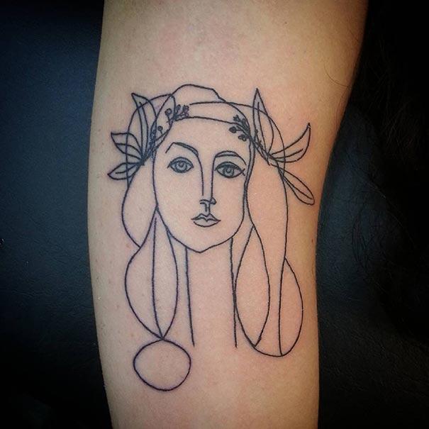 tatuajes a lo Picasso 1