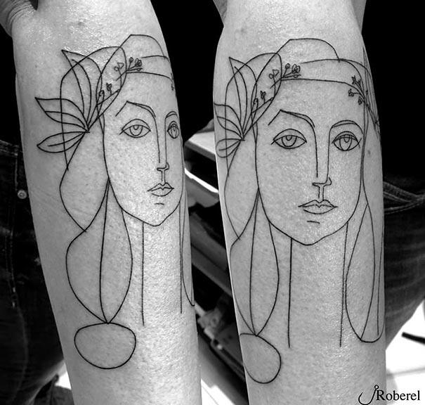 tatuajes a lo Picasso 11