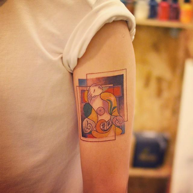 tatuajes a lo Picasso 3