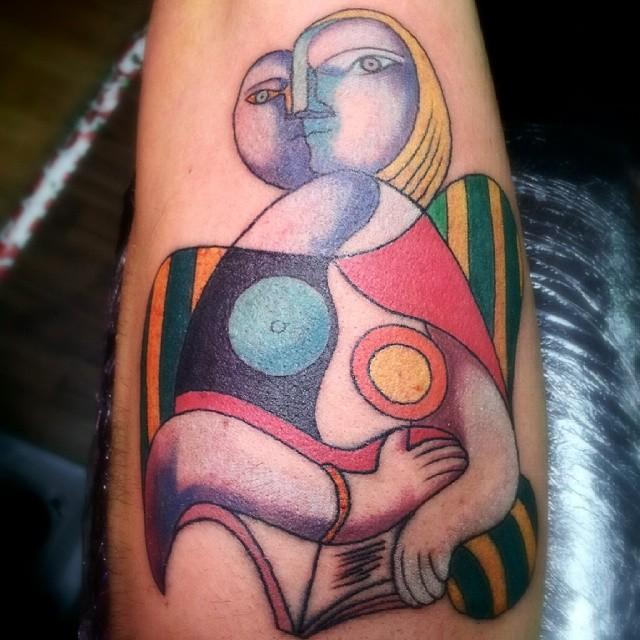 tatuajes a lo Picasso 7