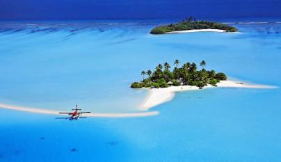 vacaciones en una mini isla privada