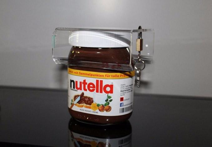 Nutella bajo llave