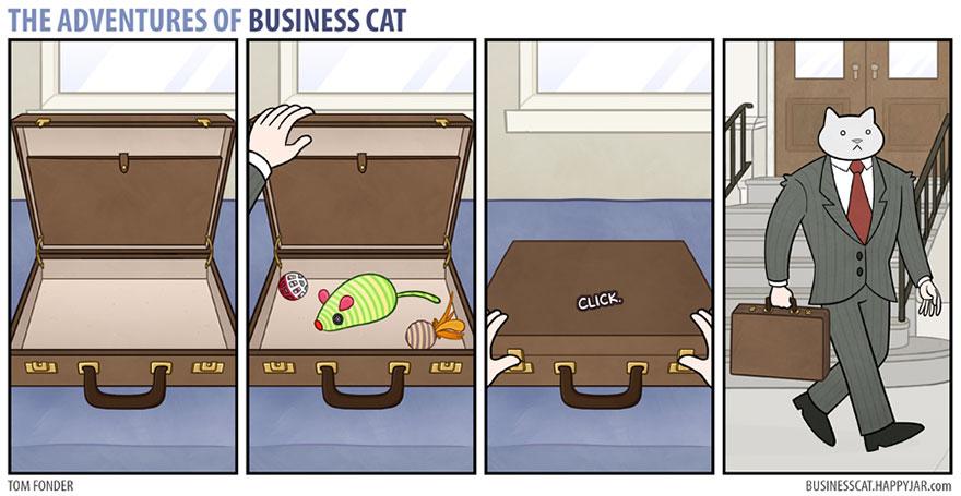 gato ejecutivo 2