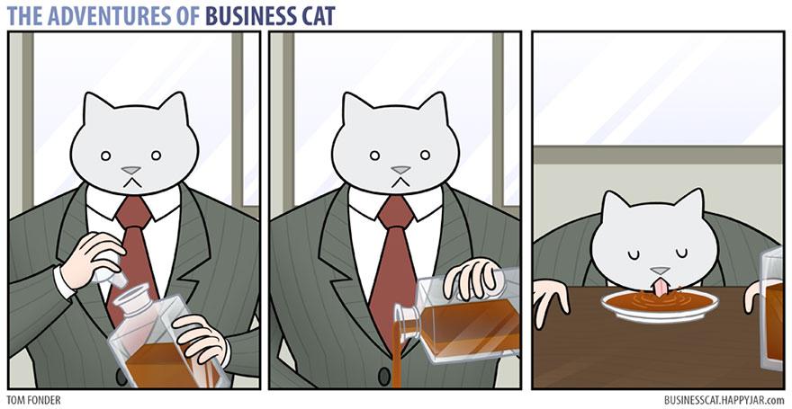 gato ejecutivo 4