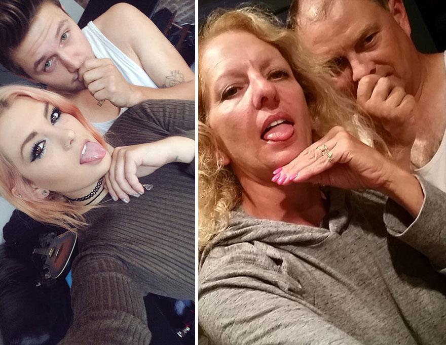 padres selfies 3