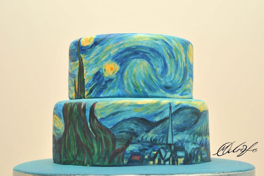 tartas de cuadros famosos 2