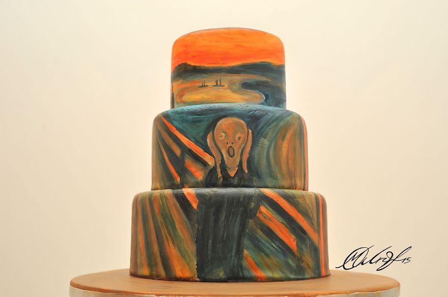 tartas de cuadros famosos 3