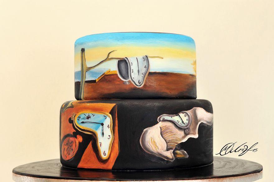 tartas de cuadros famosos 4