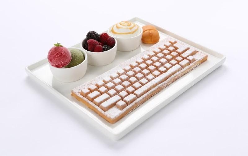 teclado de gofre 1