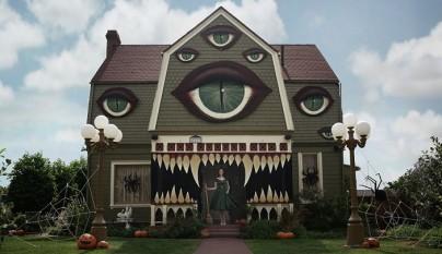 casa preparada para Halloween 1