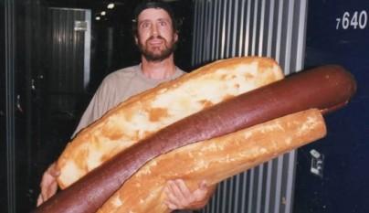 el hot dog mas grande del mundo