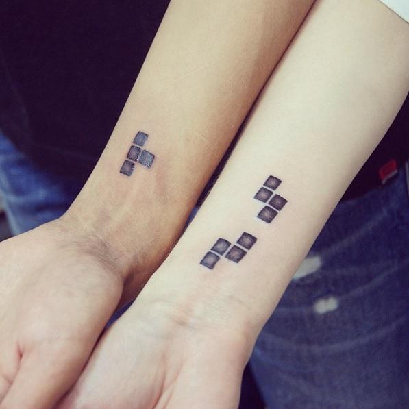 finest selection 765de 6ae2d Original tatuaje para parejas