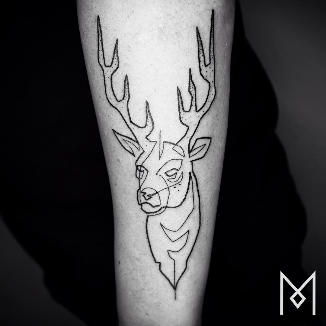tatuajes una sola linea 3