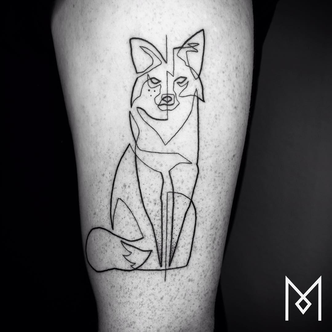 tatuajes una sola linea 5
