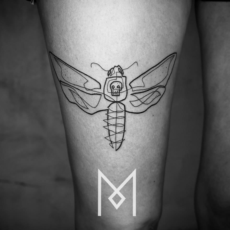 tatuajes una sola linea 7