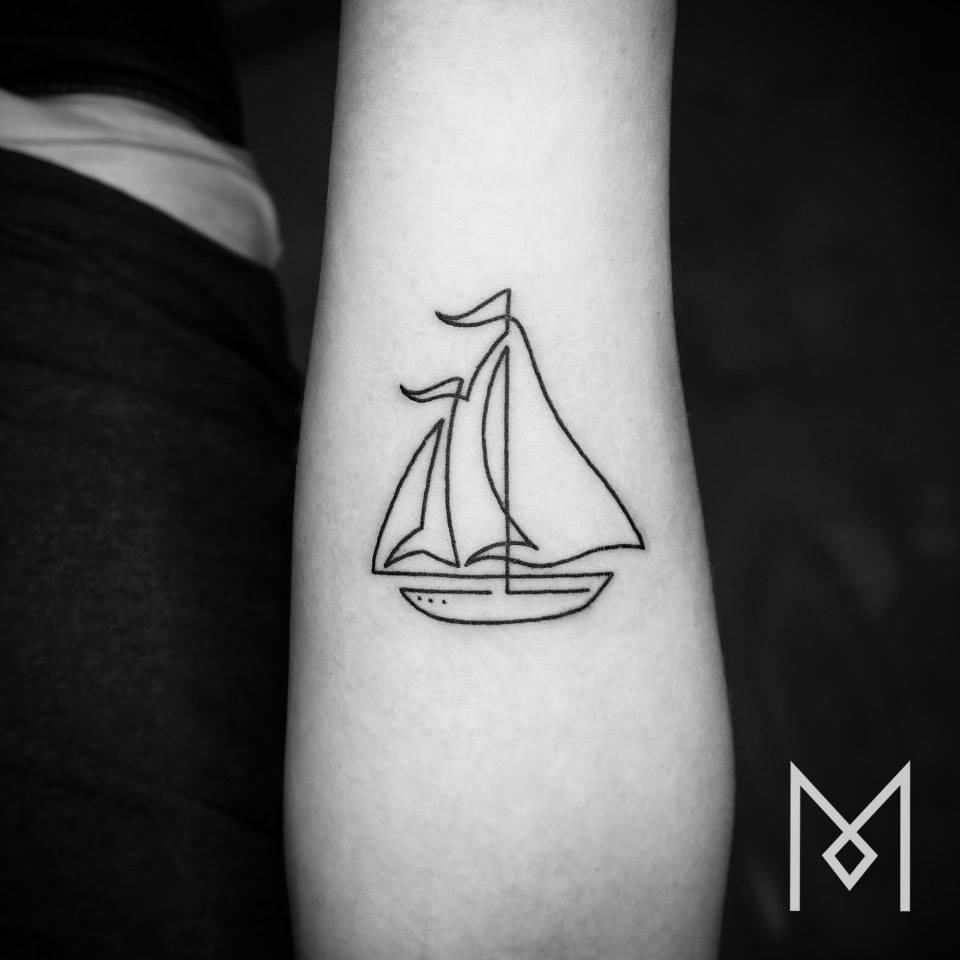 tatuajes una sola linea 8