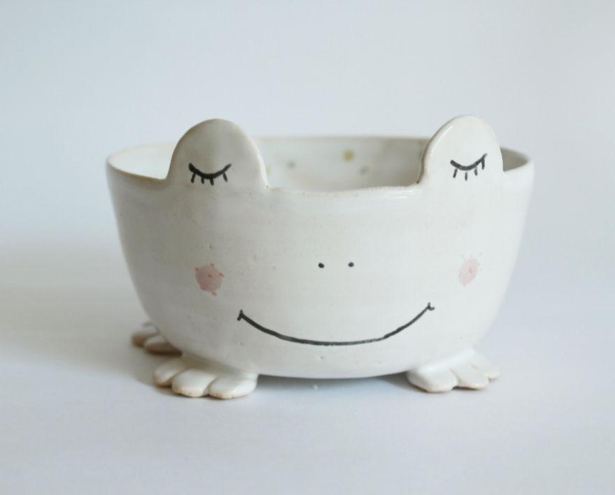 tazas de ceramica animales 11