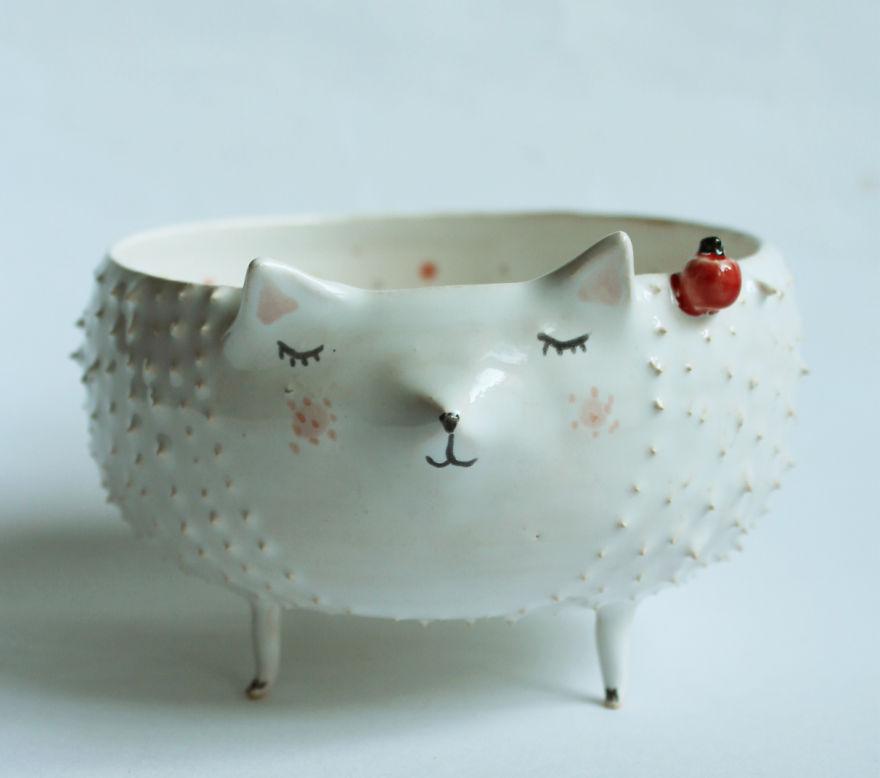 tazas de ceramica animales 3