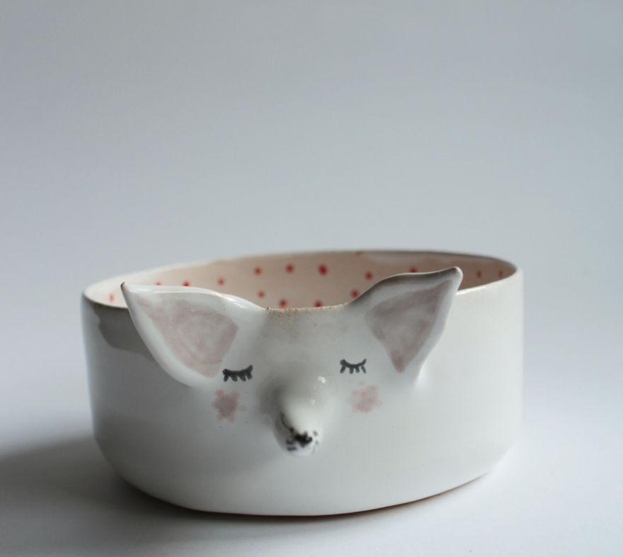 tazas de ceramica animales 4