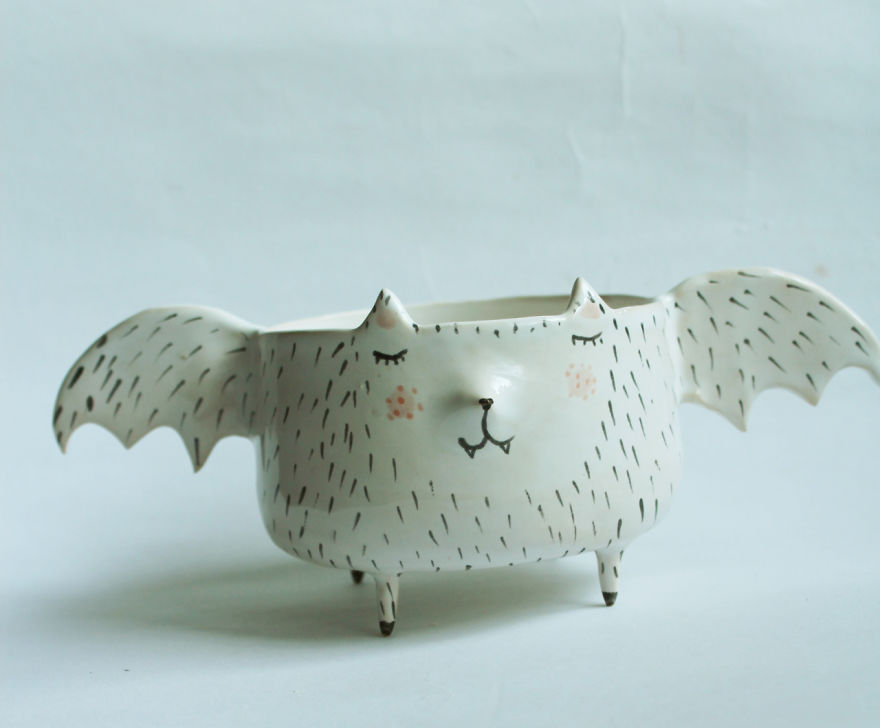tazas de ceramica animales 5