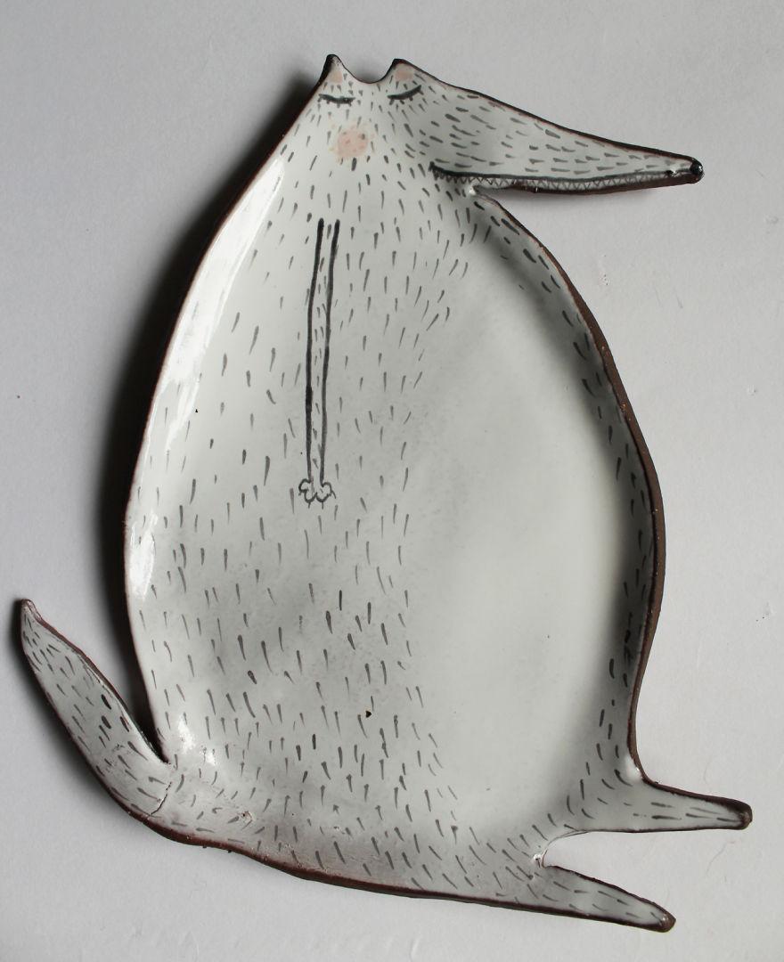tazas de ceramica animales 9