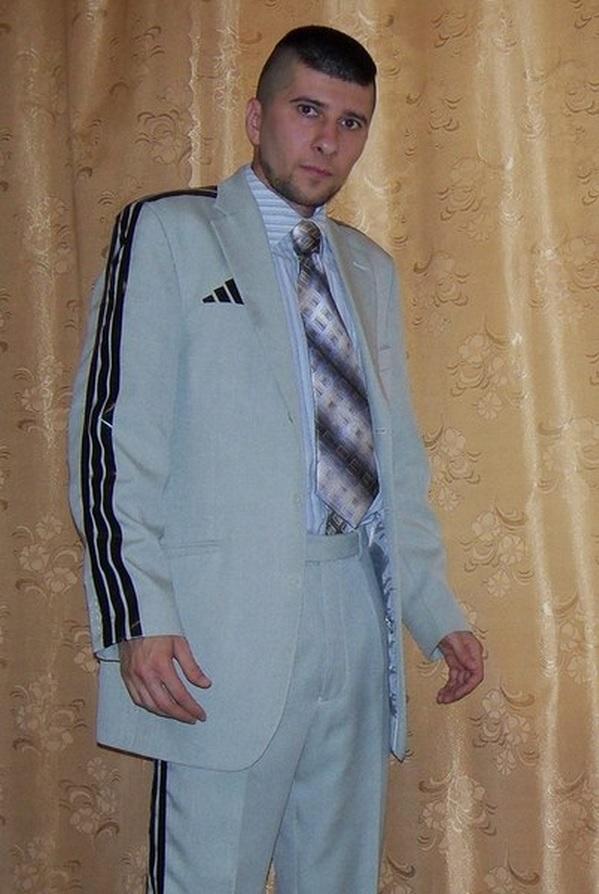 traje adidas