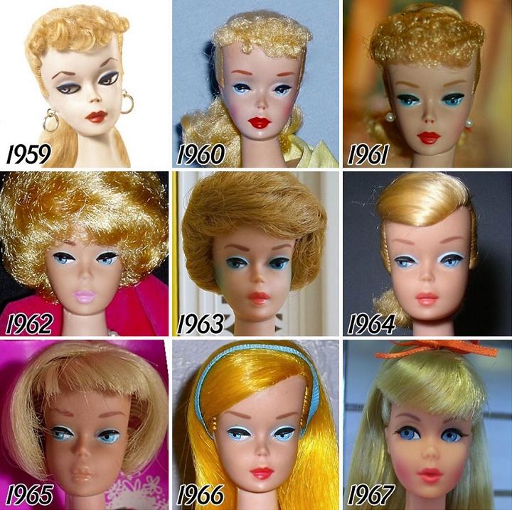 Barbie evolucion 1