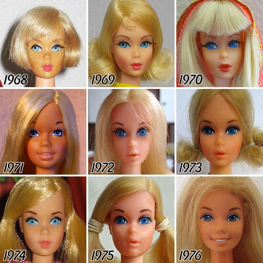 Barbie evolucion 2