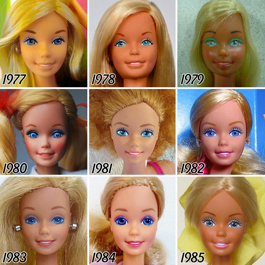 Barbie evolucion 3