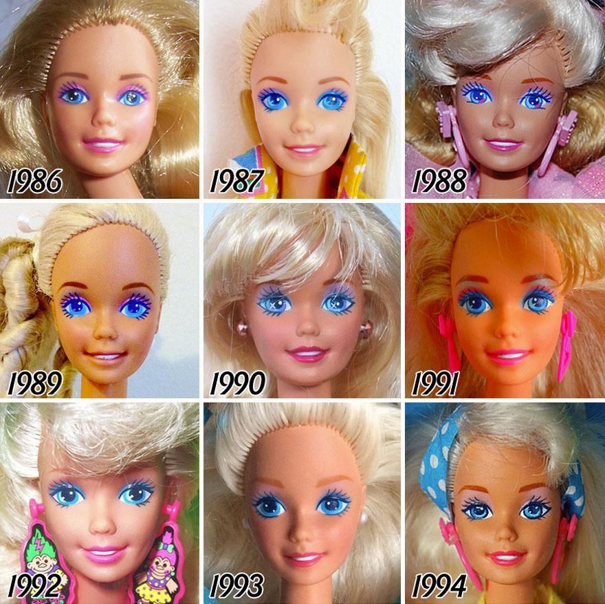 Barbie evolucion 4