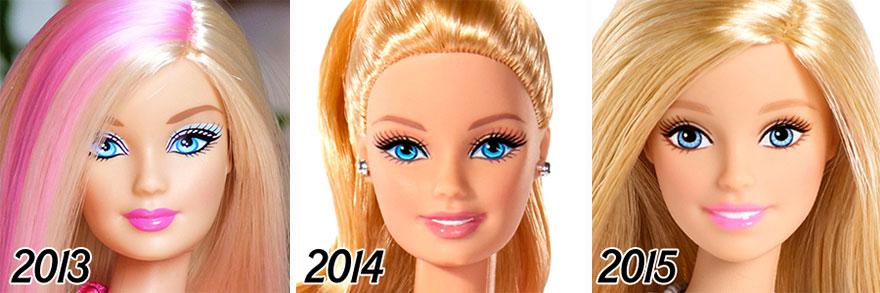Barbie evolucion 6