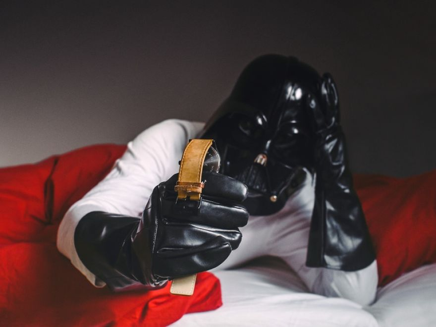 Darth Vader dia a dia 10