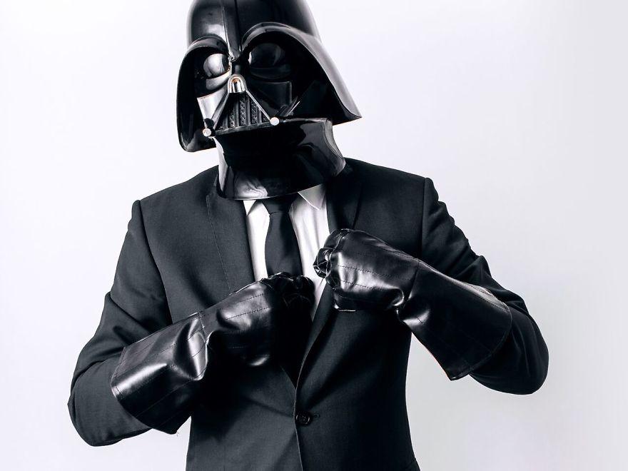Darth Vader dia a dia 12