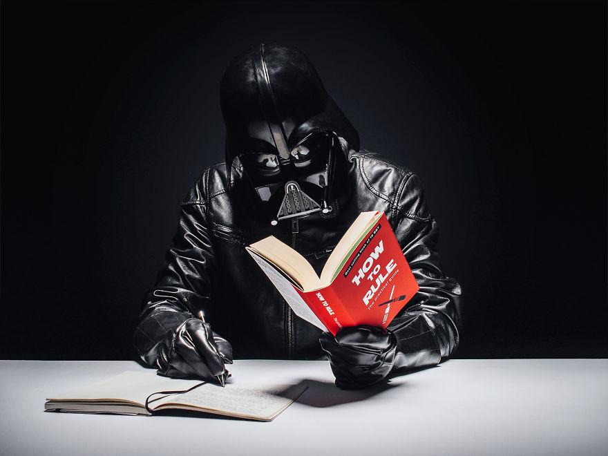 Darth Vader dia a dia 14