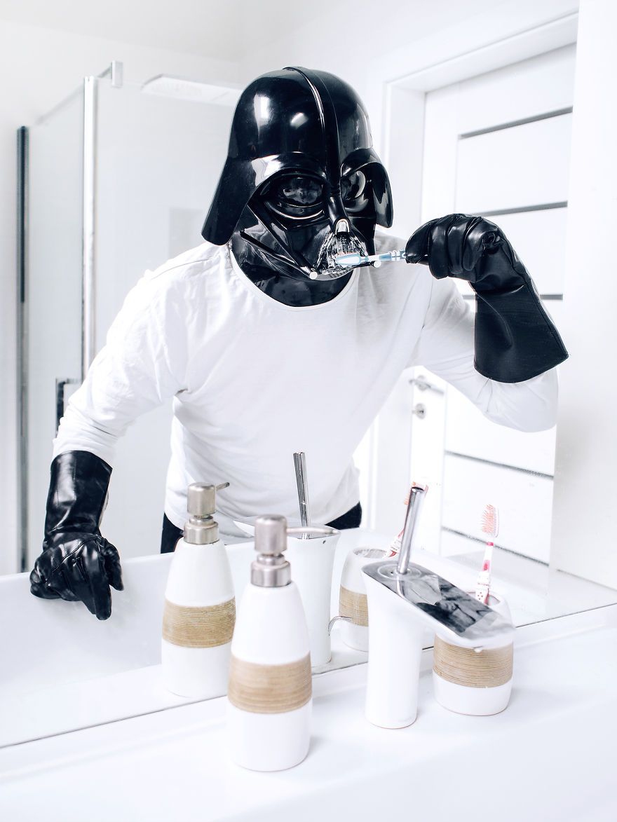 Darth Vader dia a dia 2