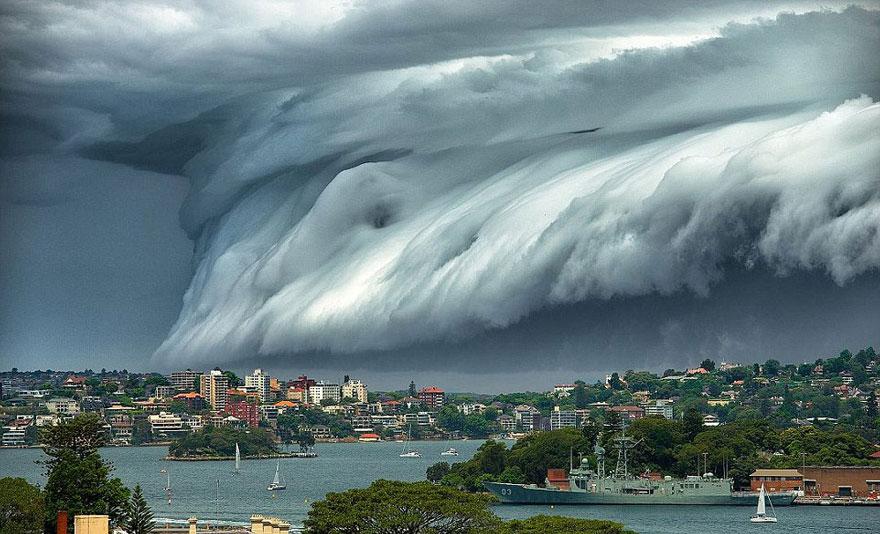 Tsunami de nubes 1