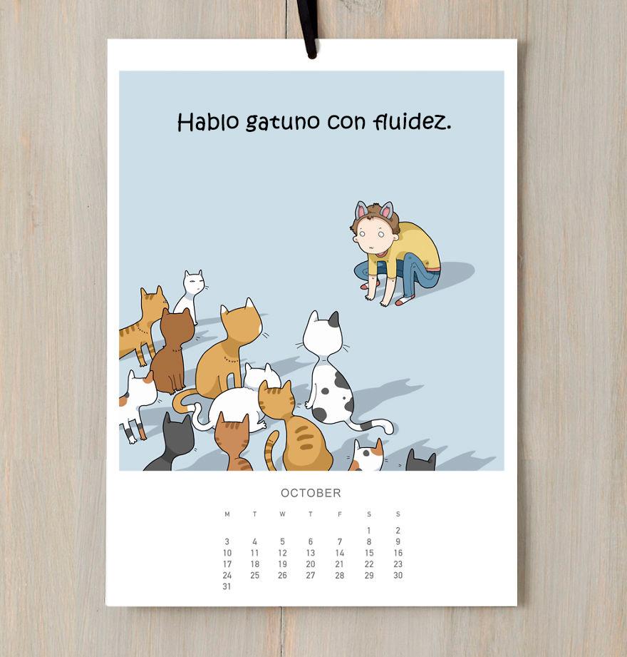 calendario gatuno 10