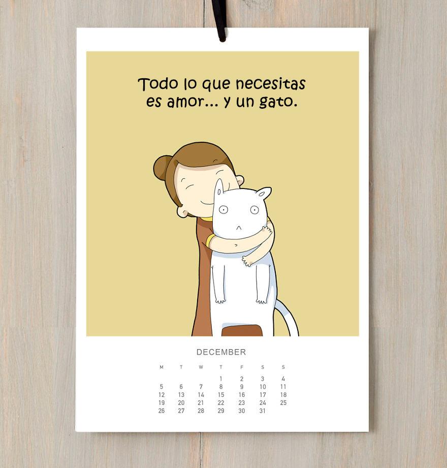 calendario gatuno 12